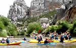 descenso en canoas