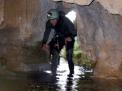 Espeleología en la cueva de Piscarciano