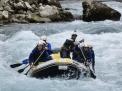 Rafting en el rio Deva