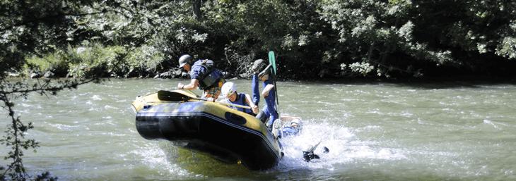 Rafting en Cantabria para familias con niños