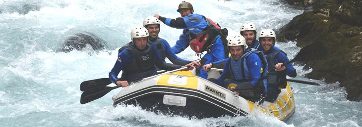 Rafting en el río Cares Asturias