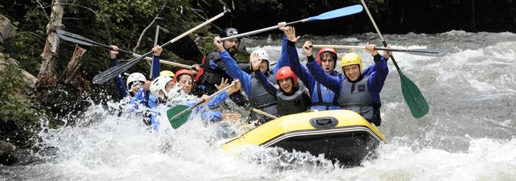 Rafting en el Alto Ebro