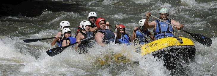 El rafting es seguro